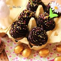 Cupcakes de Pâques dans barquette d'oeufs misspat1