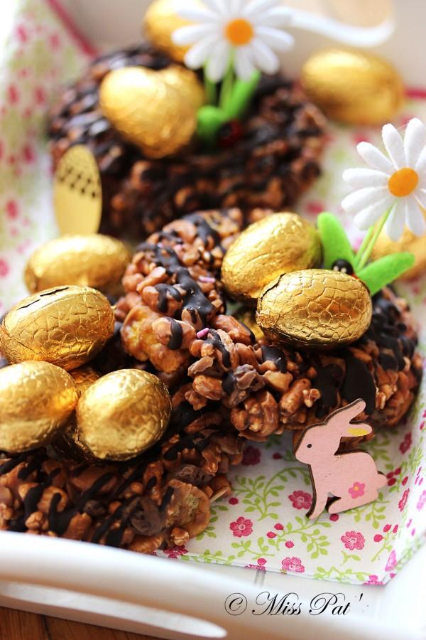 Petits nids de Pâques untibb