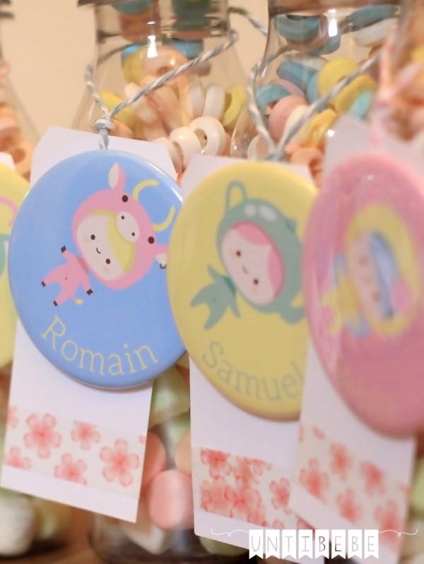 cadeau invite mariage enfant badge