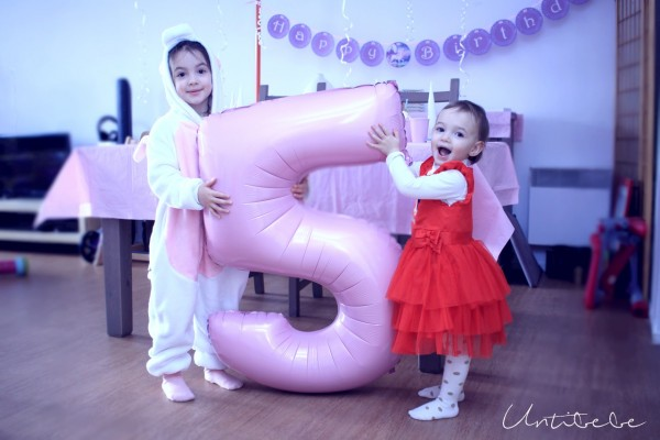 5 ans anniversaire theme licorne