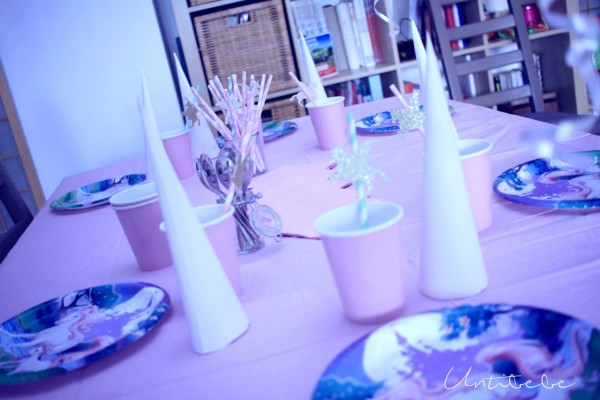anniversaire licorne decoration table