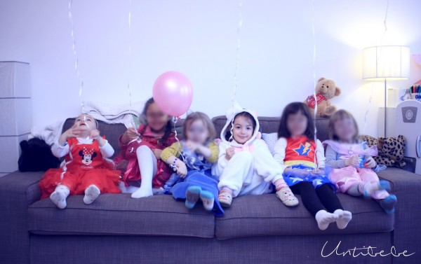 anniversaire theme licorne enfant