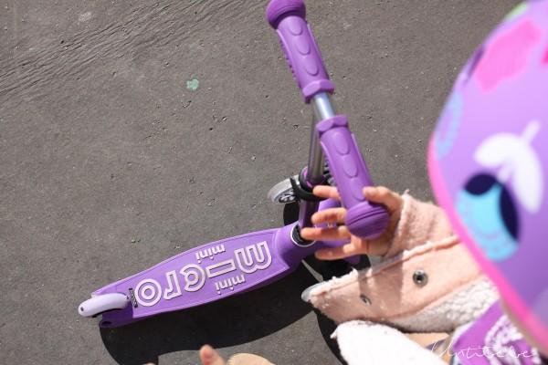 mini micro de luxe violet