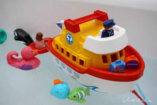 playmobil 1 2 3 bateau navire