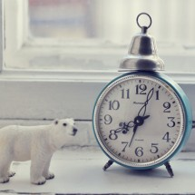Réveil Vintage russe avec bell Jantar