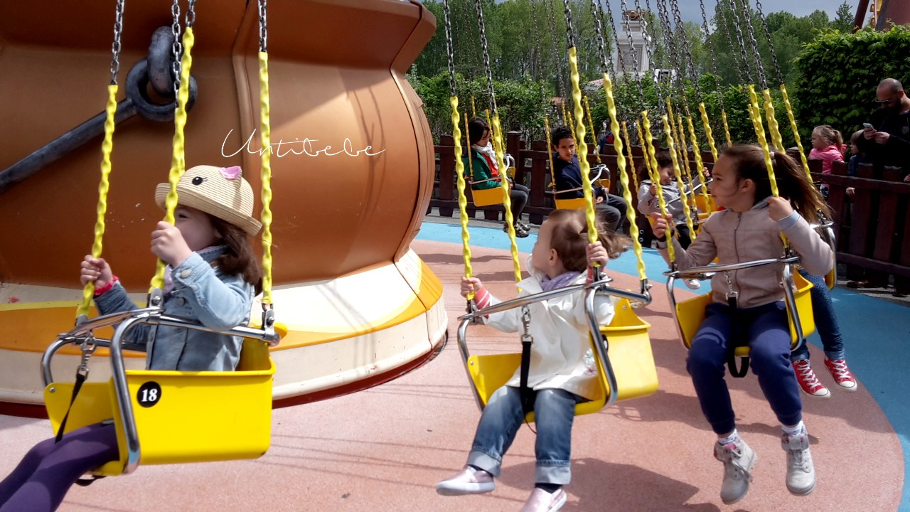 chaises volantes parc asterix