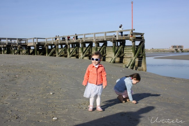 le crotoy la plage