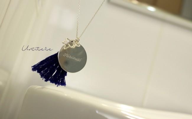petits tresors sautoir bleu boreal