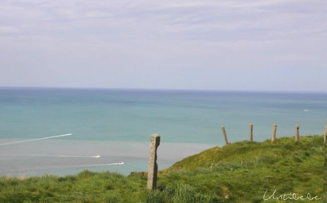 treport vue depuis falaise
