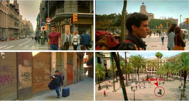 visiter barcelone comme auberge espagnole plan lieux de tournage