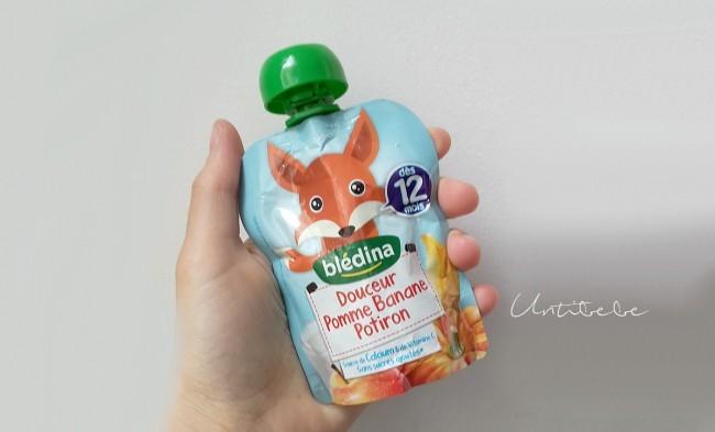 bledina nouvelle gourde fruits