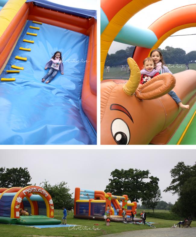 jeux gonflables enfants chateau lez eaux les castels