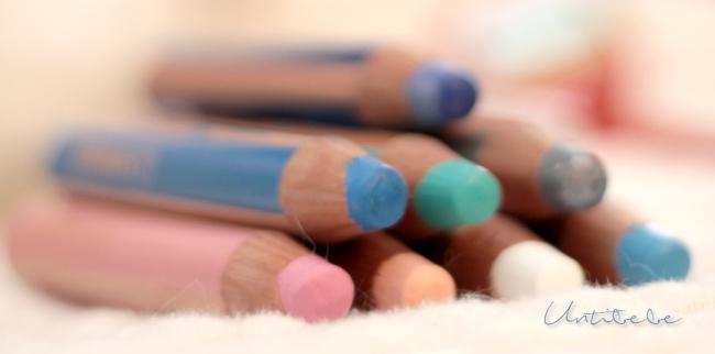 crayons woody stabilo