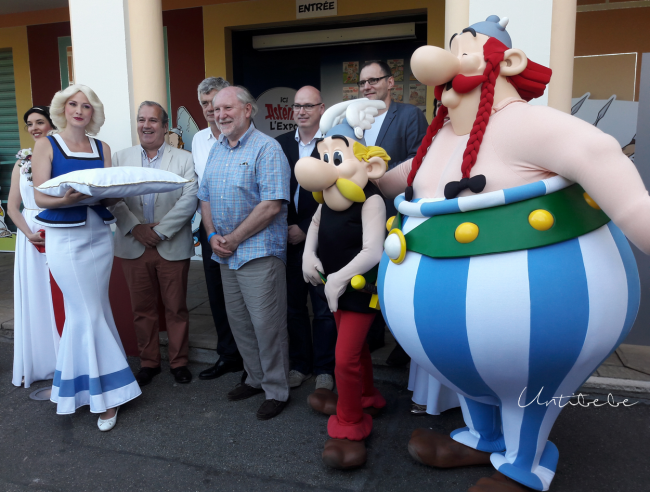 inauguration asterix lexpo parc