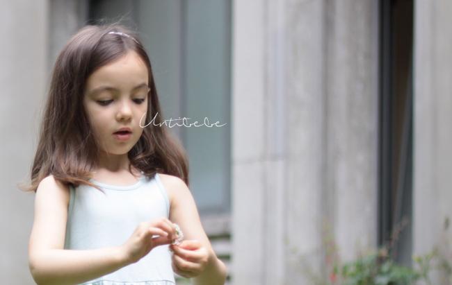 petite fille fleur