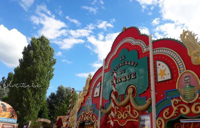 restaurant du cirque asterix