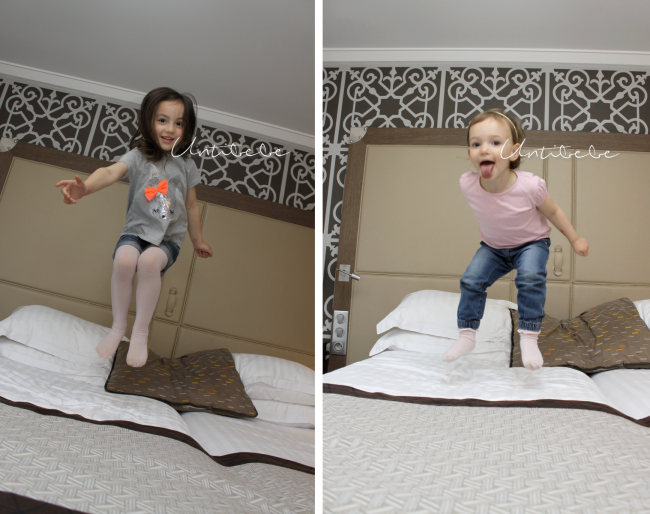 sauter sur les lits