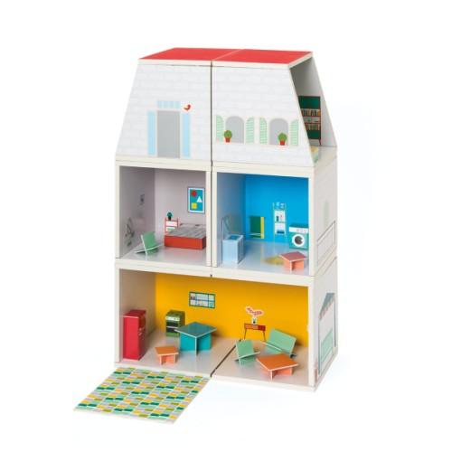 Maison poupée modulable