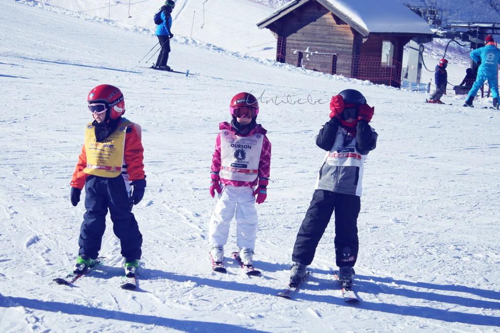 Emma au ski