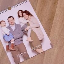 calendrier personnalisé famille v