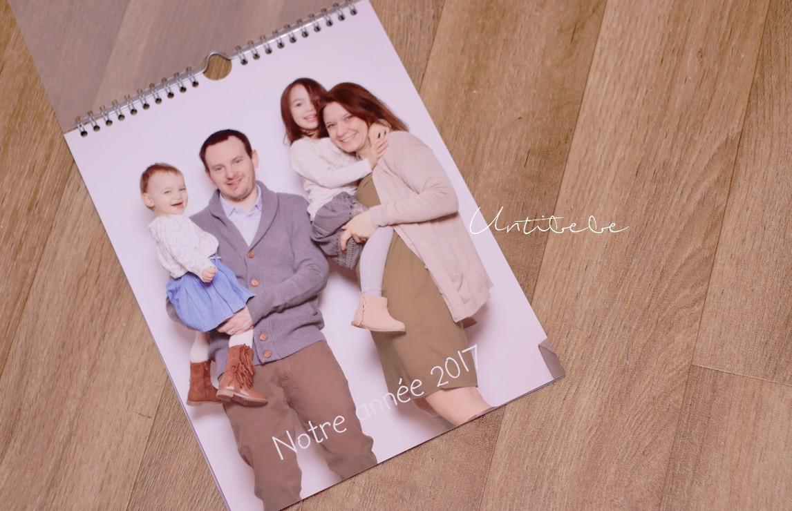 calendrier personnalisé famille