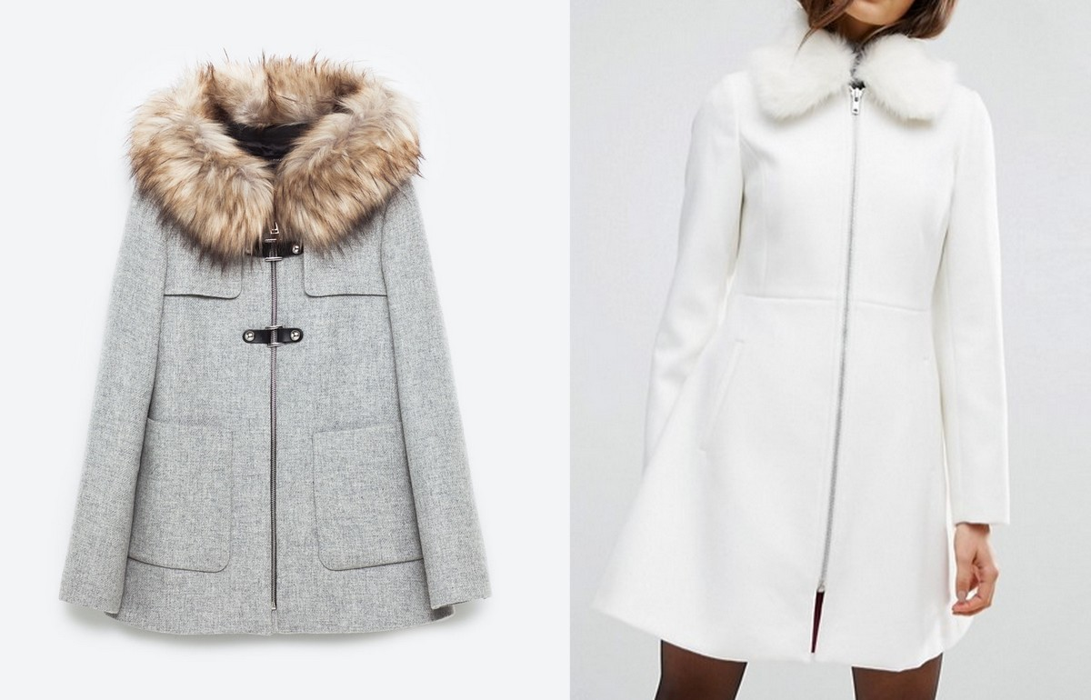 duffle coat zara vs asos