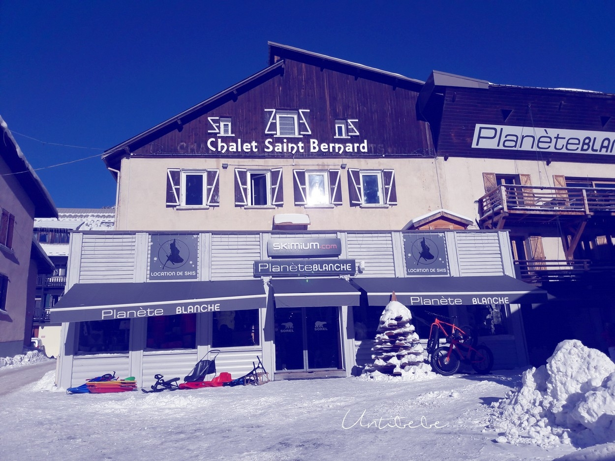 planete blanche location skis