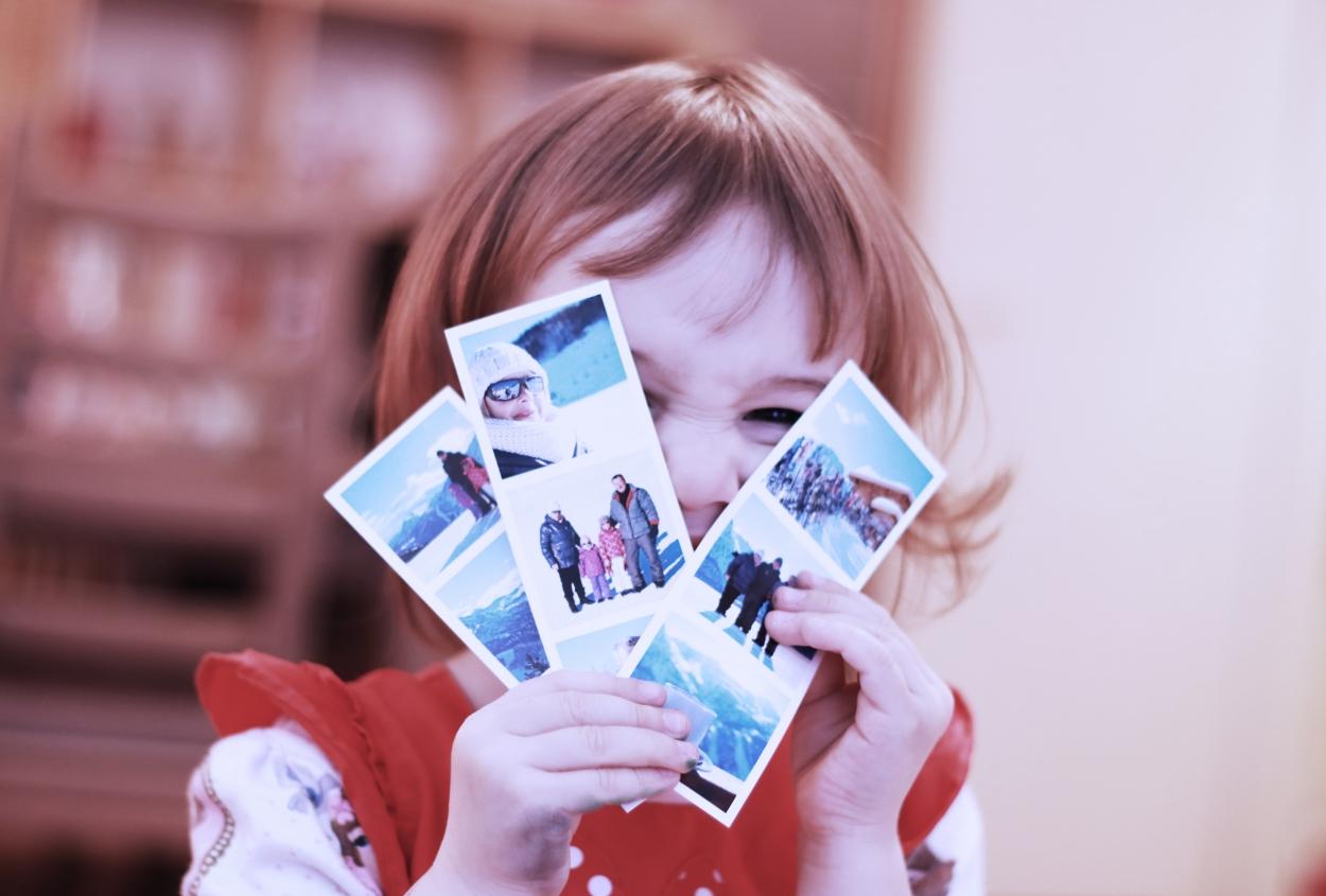 lena et ses photo format photomaton