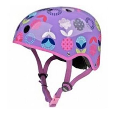 MICRO MOBILTY - Casque Vélo et Trottinette Floral Dot Purple