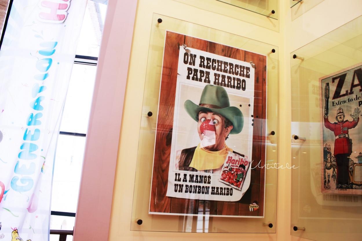 affiche haribo tagada vintage_