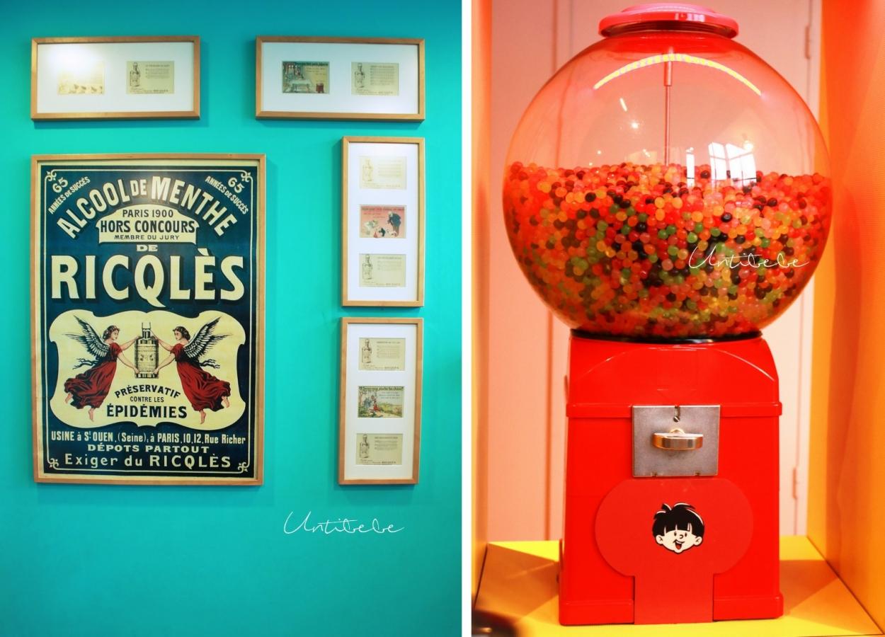 affiche ricqles vintage