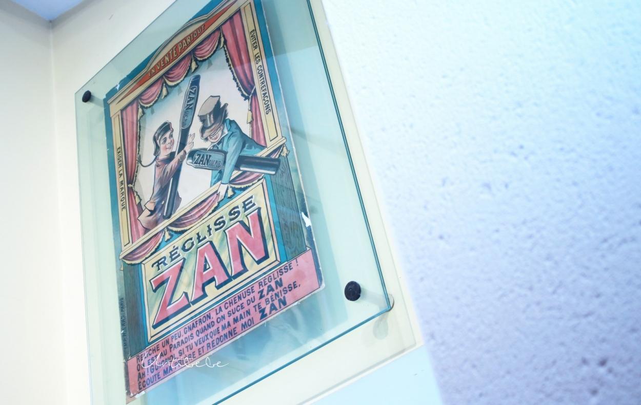 affiche vintage zan