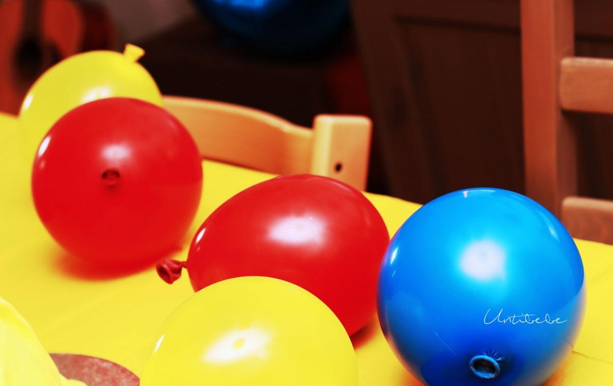 ballons anniversaire blanche neige
