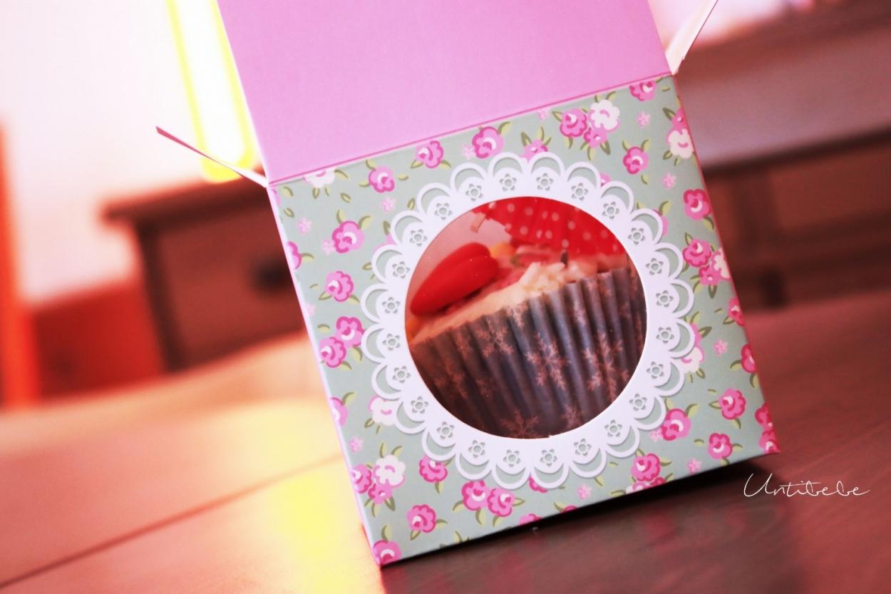 boite cupcake liberty vintage