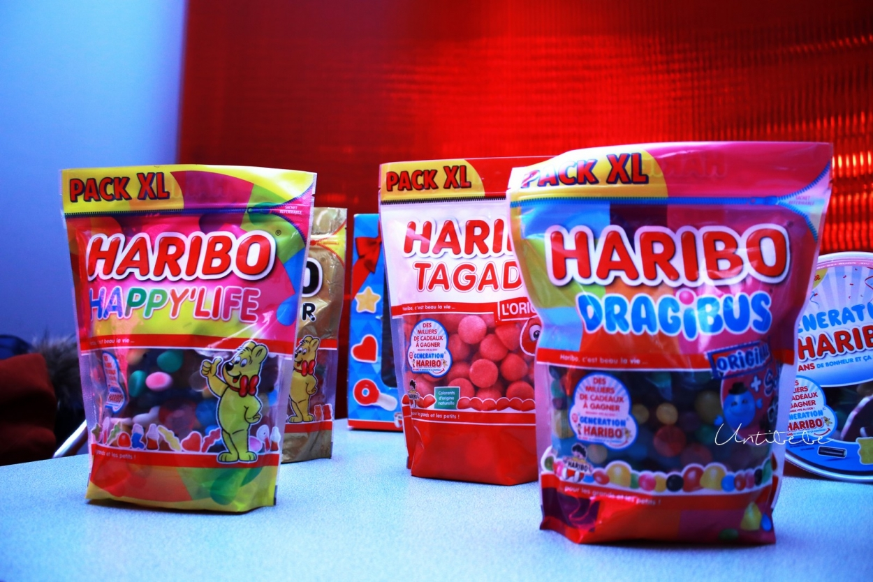 bonbons haribo génération 50 ans