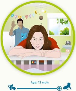 comment voit bebe 12 mois
