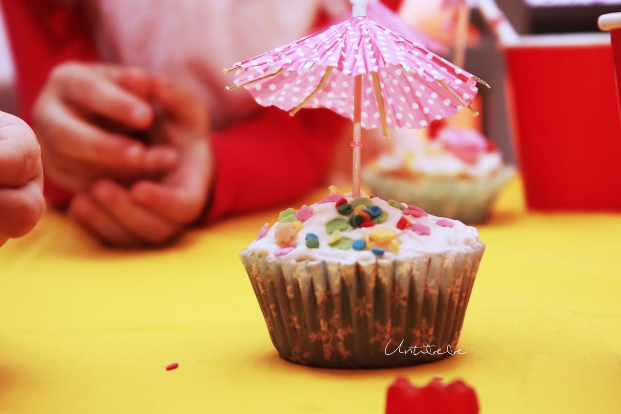 joli cupcake anniversaire