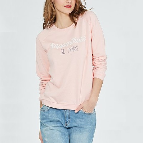 sweat-molleton-imprime-message--rose-pale-femme-ve265_6_fr1