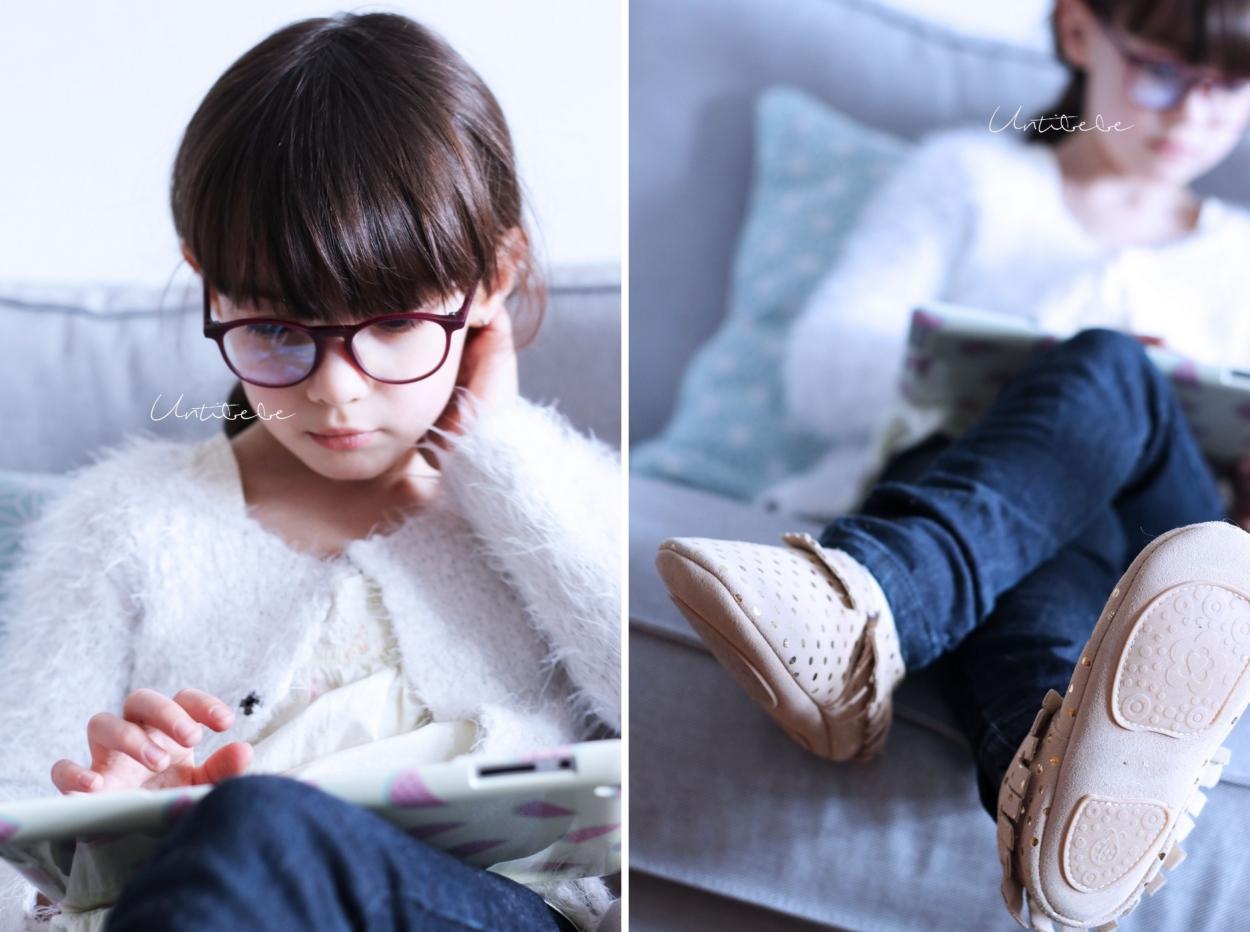 lunettes anti lumiere bleue enfant Oblue