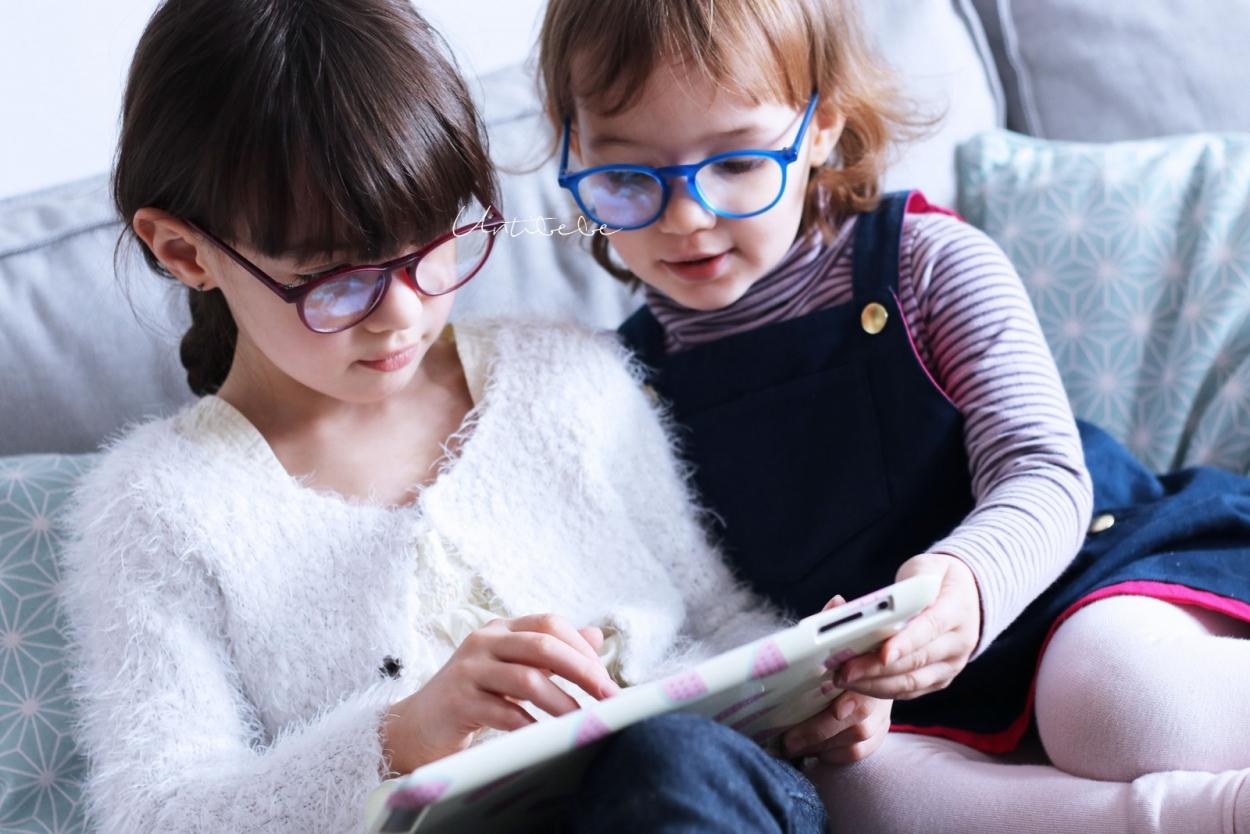 lunettes anti lumiere bleue enfants Oblue