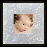 faire-part-naissance-photo-pas-cher-relief-floral-blanc-gris-irise-c5028