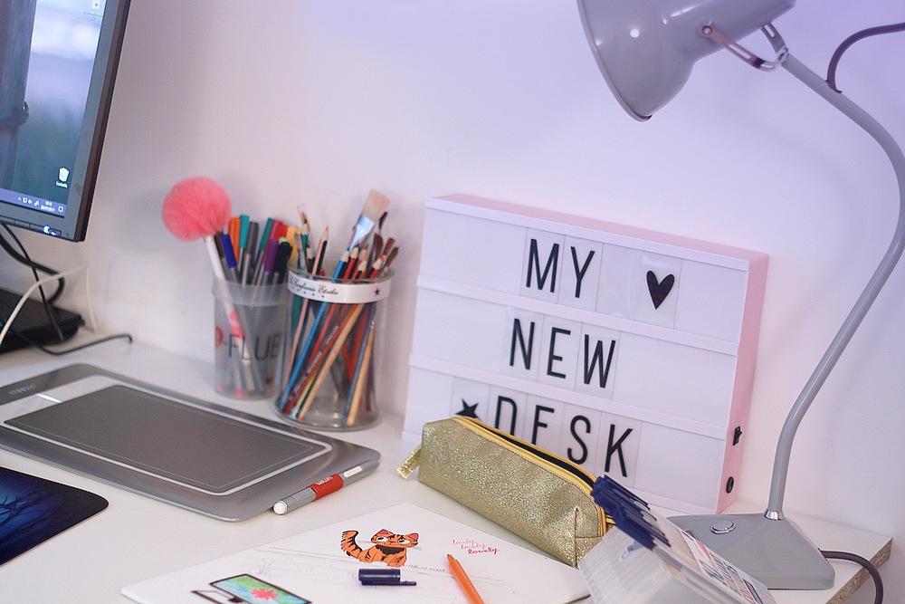 Mon nouveau bureau concours lightbox lifestyle untibebe