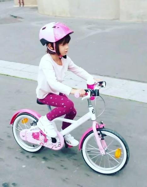Vélo B'twin d'Emma