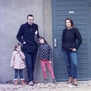 photo de famille la halle