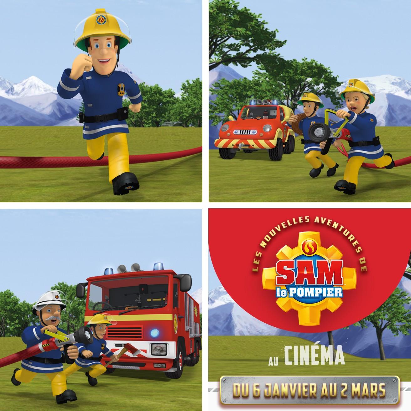 Sam le pompier au cin ma et des places gagner - Sam le pompier personnages ...