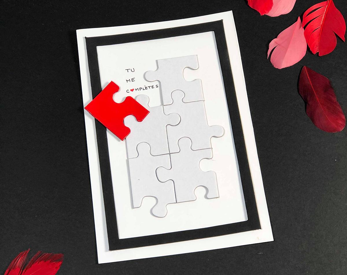 carte de voeux saint valentin originale
