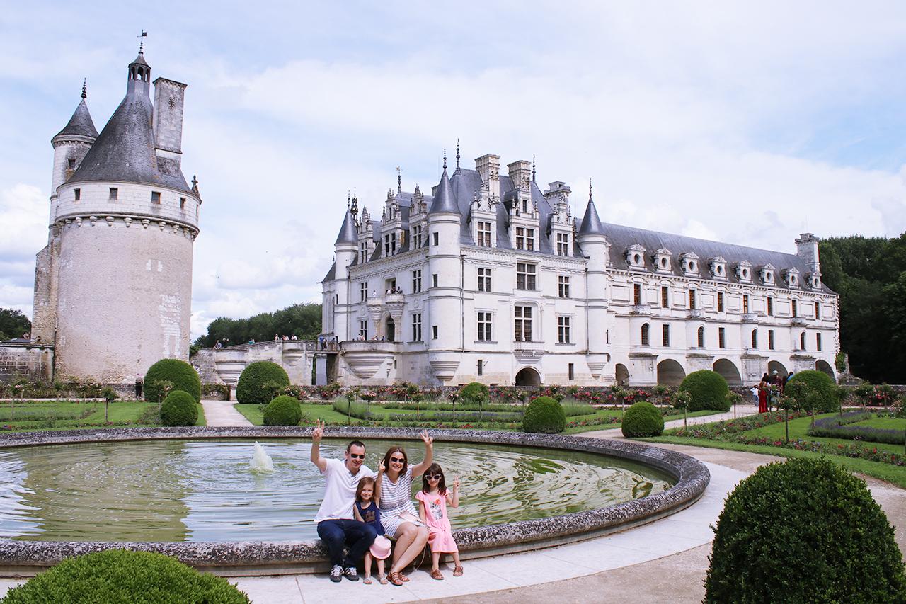 visite chateau chenonceau famille