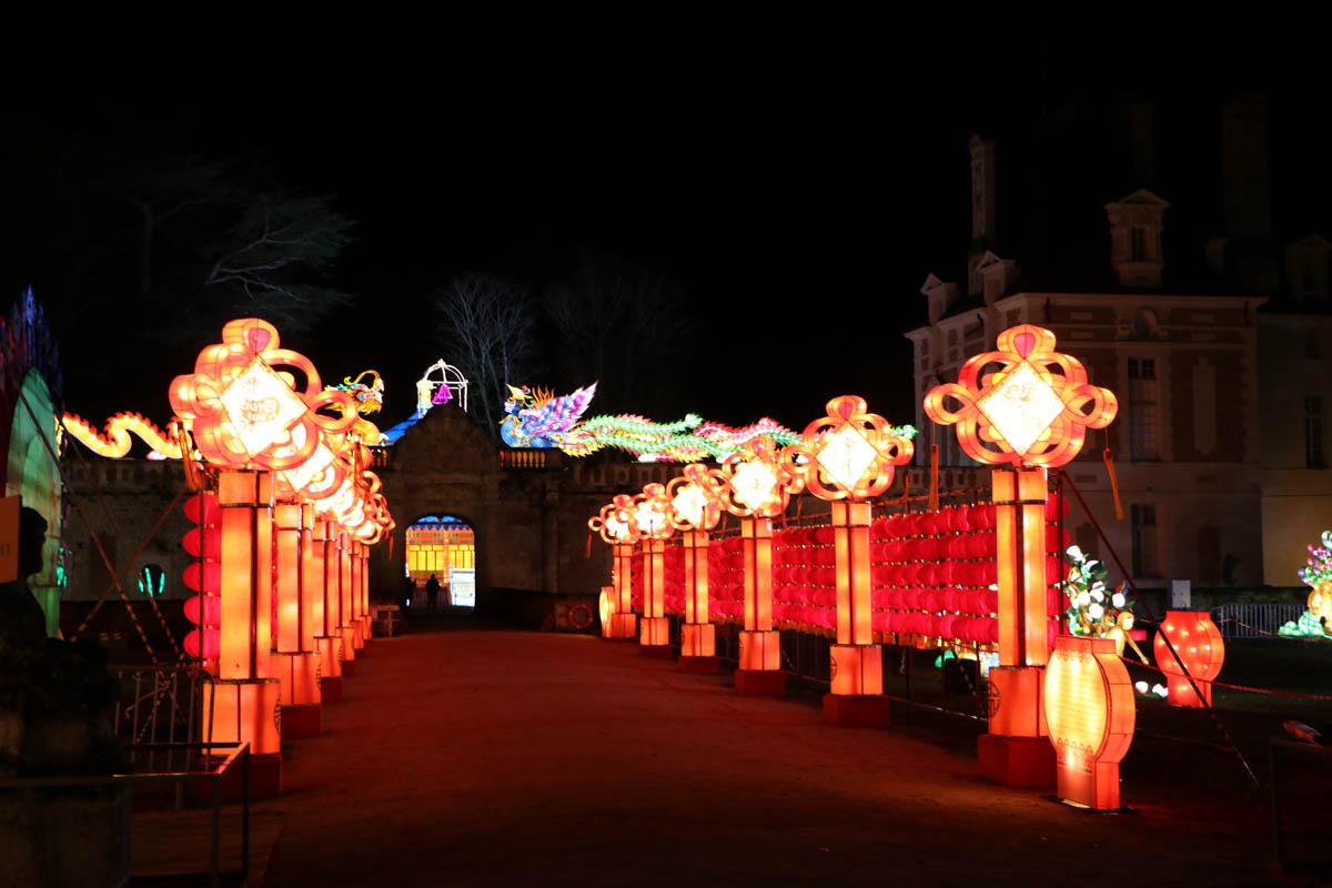 Festival des Lumières Celestes du chateau de Selles-sur-Cher