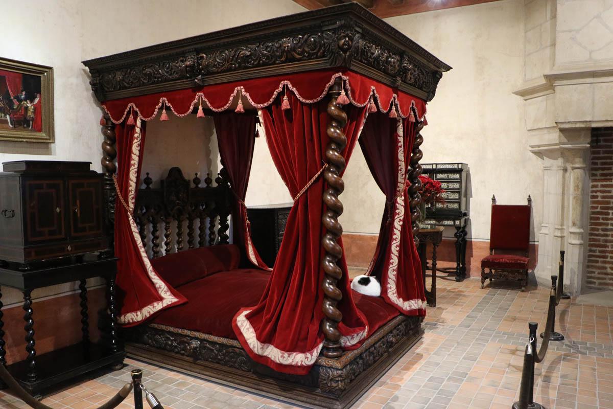 Le chateau du Clos Luce leonard de vinci