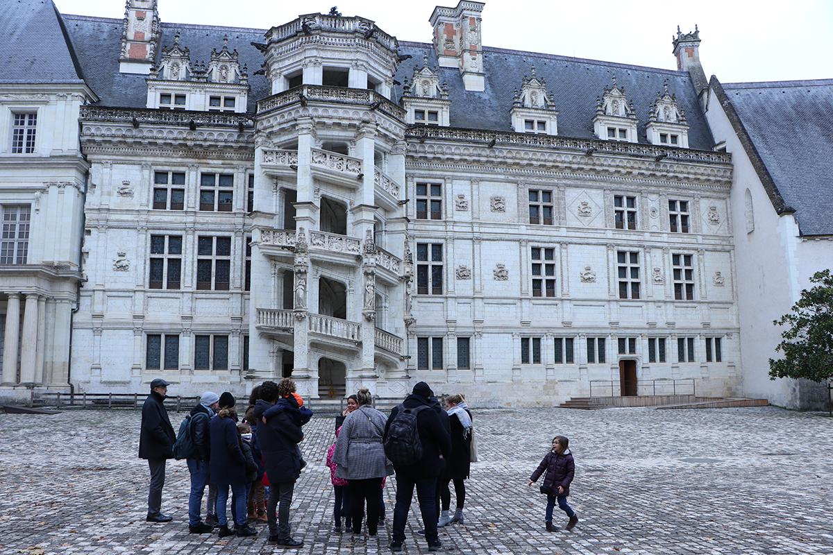 chateau de blois visite famille